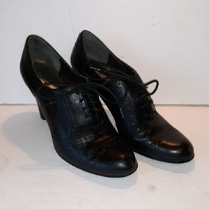 Franco Fortini 8 oxford heels office business